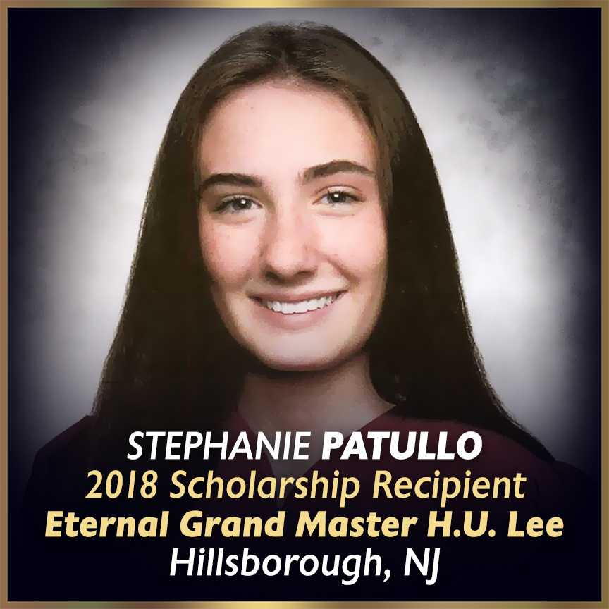 2018 National Scholarship Winners